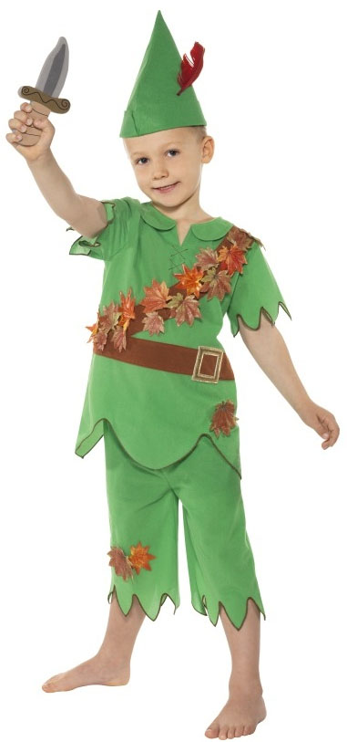 Peter-Pan-Boys-Fancy-Dress-Book-Week-Disney-Kids-Child-Costume-Ages-4-5-6-7-8-9