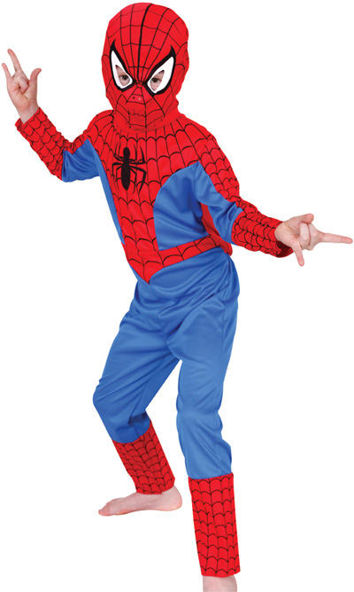 Kid's Classic Spiderman Costume