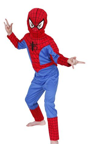 Kid's Classic Spiderman Fancy Dress Costume