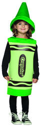 View Item Kid's Green Crayola Crayon Costume