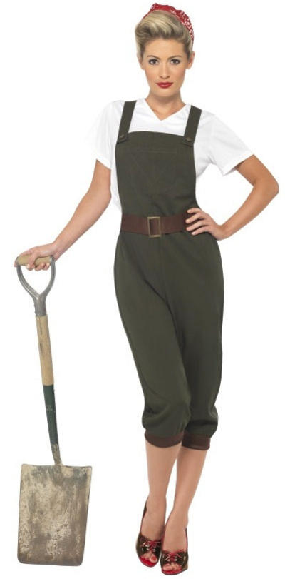 World War 2 Land Girl Costume