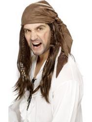 View Item Buccaneer Pirate Wig