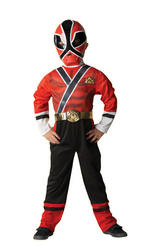 View Item Kid's Power Rangers Samurai Fancy Dress Costume