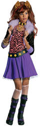 View Item Girl's Clawdeen Wolf Monster High Costume