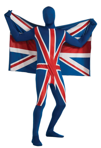Union Jack Second Skin Suit