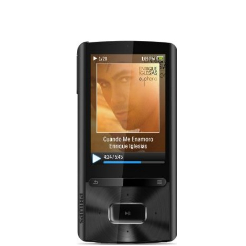 philips sa3ara08k 02 gogear ariaz 8gb mp4 player up to. Black Bedroom Furniture Sets. Home Design Ideas