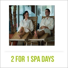 2 for 1 Spa Days