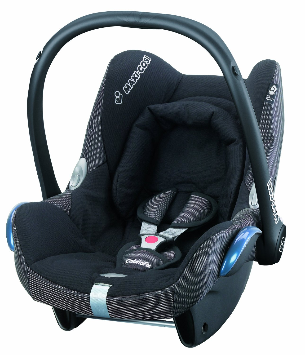 maxi cosi cabriofix black reflection carseat suitable from. Black Bedroom Furniture Sets. Home Design Ideas