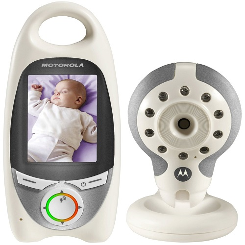 refurbished motorola mbp 31 wireless digital video baby monitor 2 4 scr. Black Bedroom Furniture Sets. Home Design Ideas
