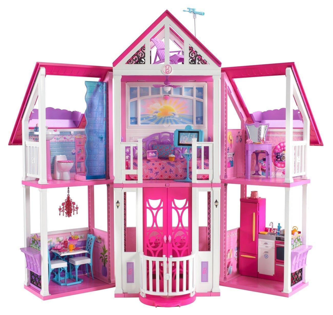 barbie dream house rooms