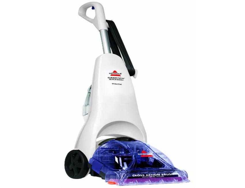 how to use bissell quickwash carpet cleaner