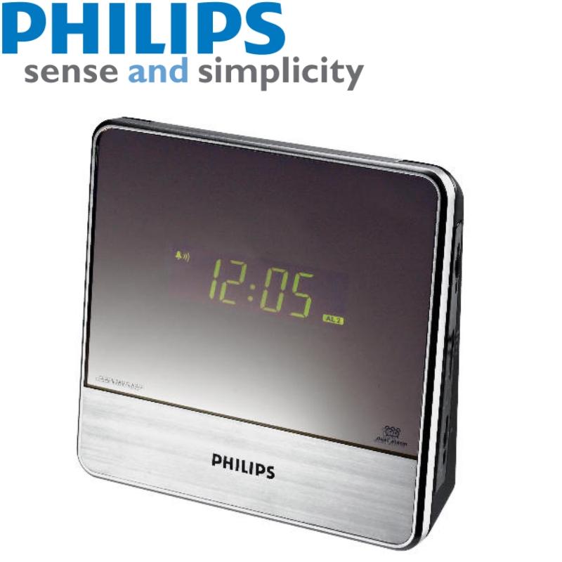 philips aj3231 05 clock radio low light mp3 link dual. Black Bedroom Furniture Sets. Home Design Ideas