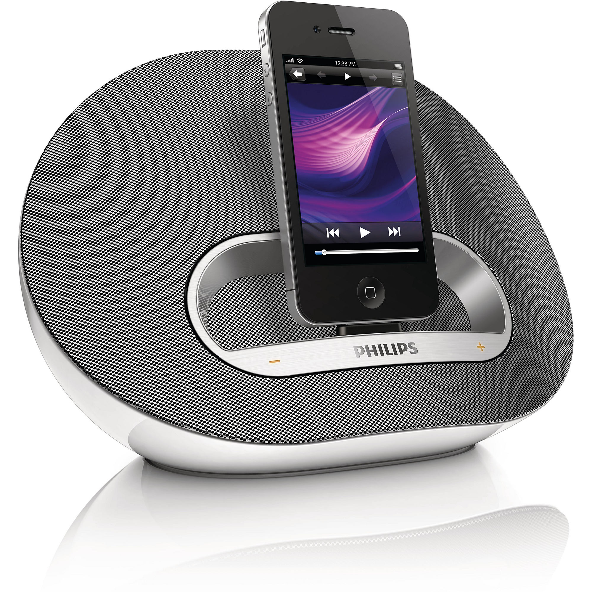 philips ds3120 ipod iphone docking station play and charge. Black Bedroom Furniture Sets. Home Design Ideas
