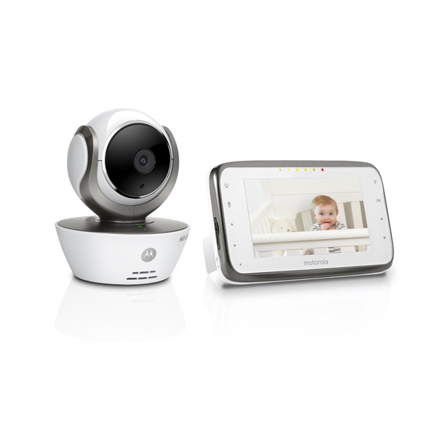 new motorola mbp854 connect digital video baby monitor infrared night vision. Black Bedroom Furniture Sets. Home Design Ideas