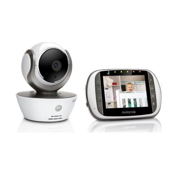 new motorola mbp853 connect digital wireless video baby monitor instant alerts ebay. Black Bedroom Furniture Sets. Home Design Ideas