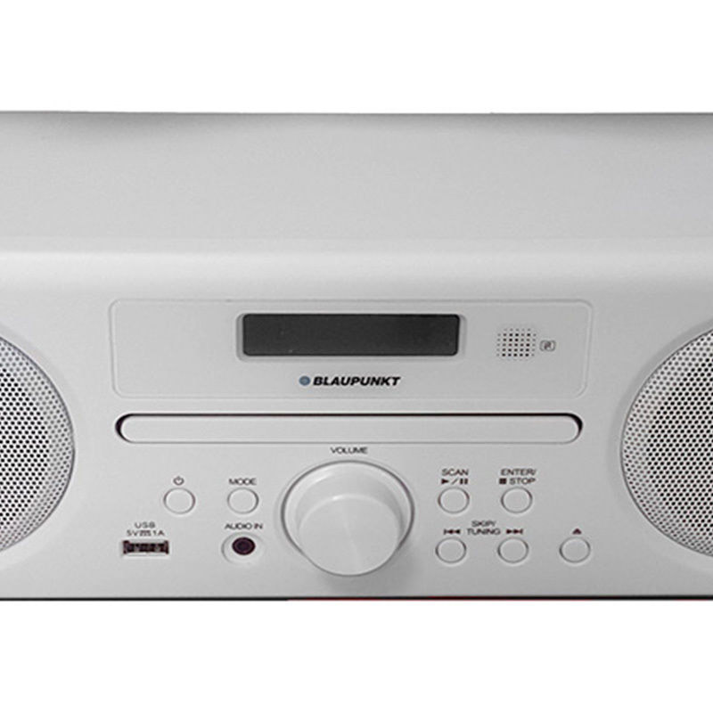 blaupunkt ne 8250 dab stereo system white with bluetooth. Black Bedroom Furniture Sets. Home Design Ideas
