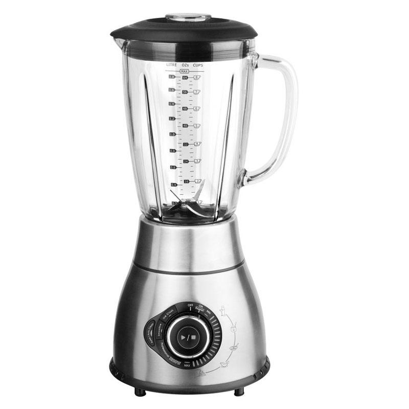 sainsburys kitchen collection glass jug blender 1 8l 1200w sainsburys kitchen collection stainless steel traditional