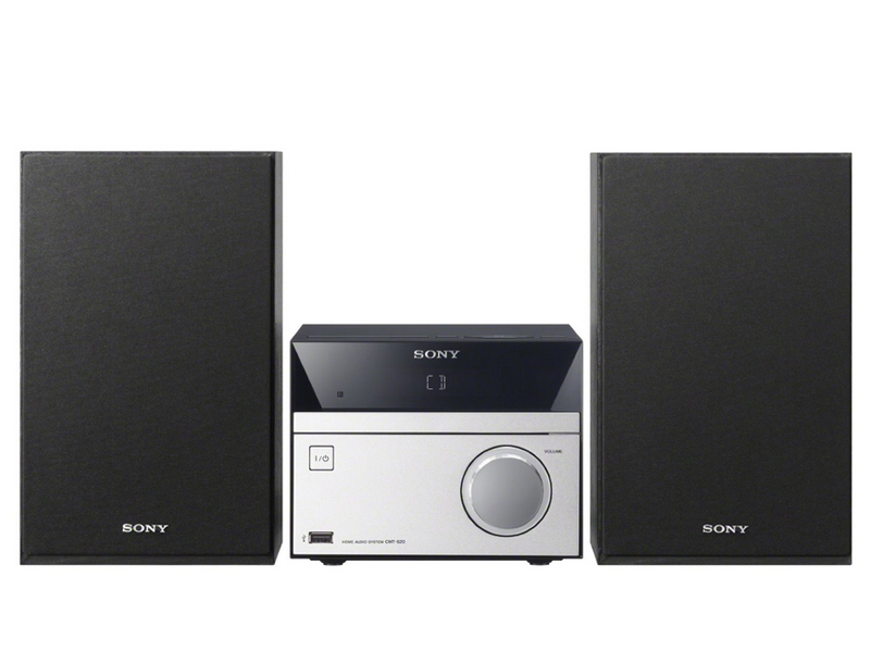 sony hcd s20 home audio system with built in cd player fm radio usb port ebay. Black Bedroom Furniture Sets. Home Design Ideas
