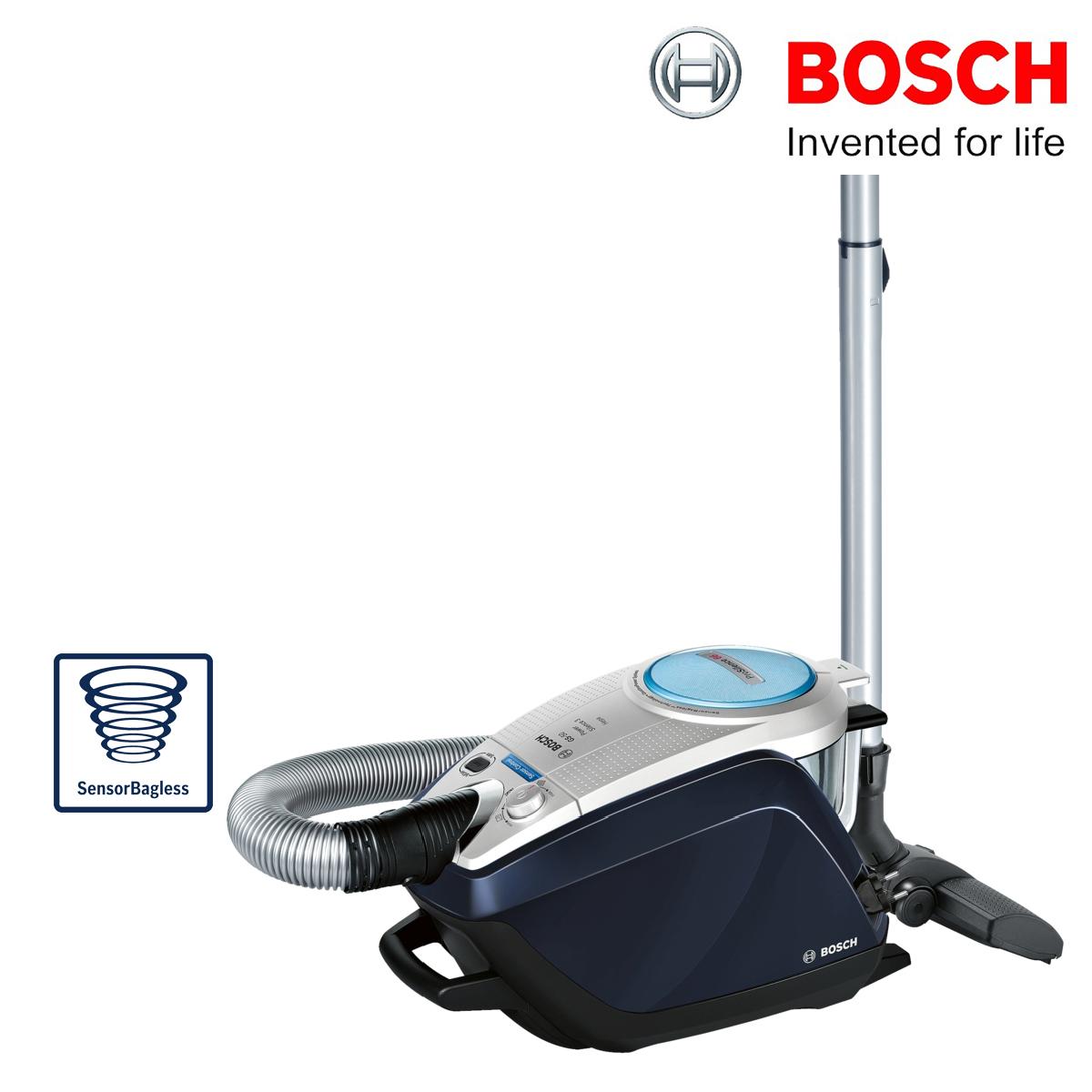 bosch bgs5scsigb pro silence 66 relaxx sensor vacuum cleaner bagless ebay. Black Bedroom Furniture Sets. Home Design Ideas