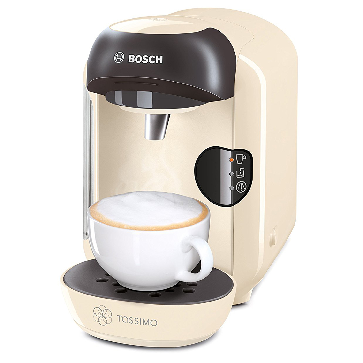 bosch tassimo vivy tas1257gb costa coffee machine hot drinks cream 0 7l. Black Bedroom Furniture Sets. Home Design Ideas