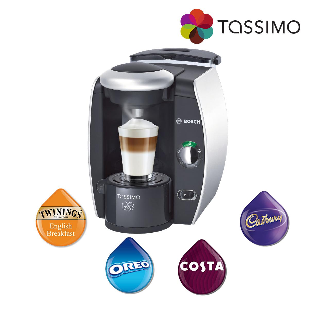 Bosch tassimo fidelia tas4011gb costa coffee hot drinks - Support capsule tassimo bosch ...