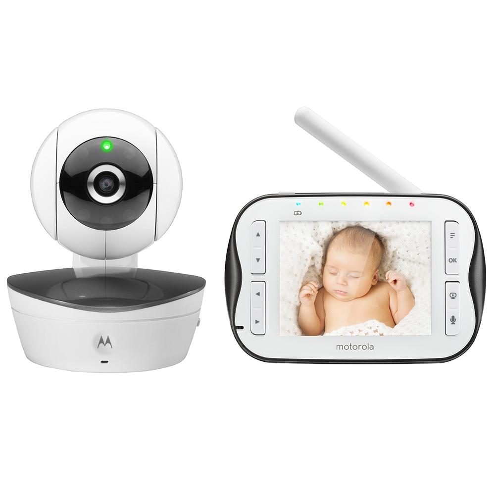 motorola mbp43 wireless digital video camera baby monitor infrared night visi. Black Bedroom Furniture Sets. Home Design Ideas