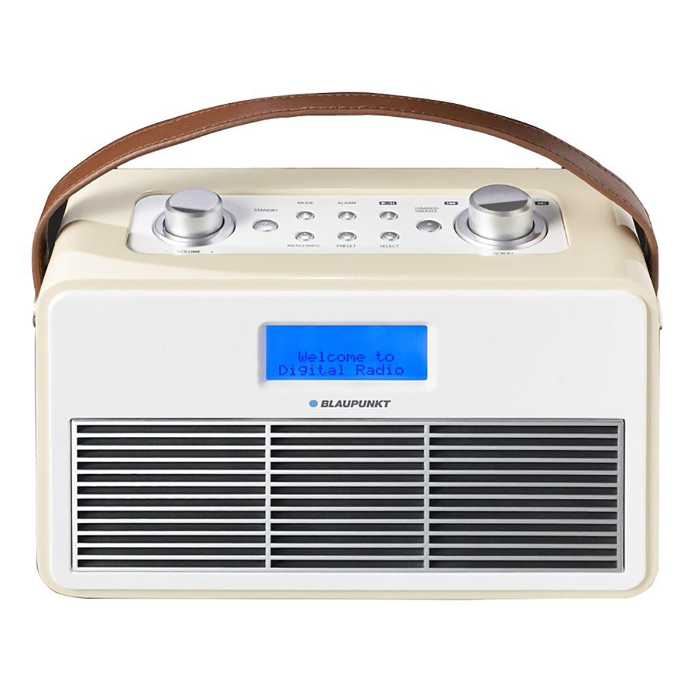 blaupunkt retro dab digital radio cream dab fm with