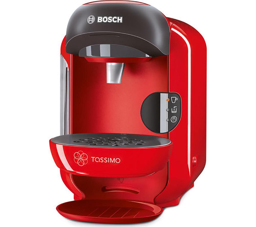 tassimo tas1253gb costa coffee hot drinks machine red 0 7l. Black Bedroom Furniture Sets. Home Design Ideas