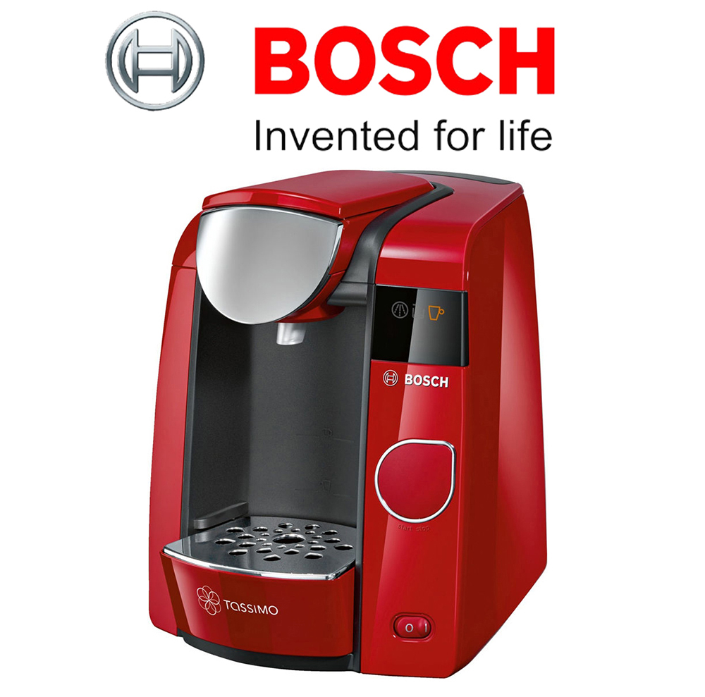 Tassimo Coffee Maker Red Light Stays : Bosch Tassimo Joy TAS4503GB Hot Drinks Coffee Machine Red Unit Only Grade C