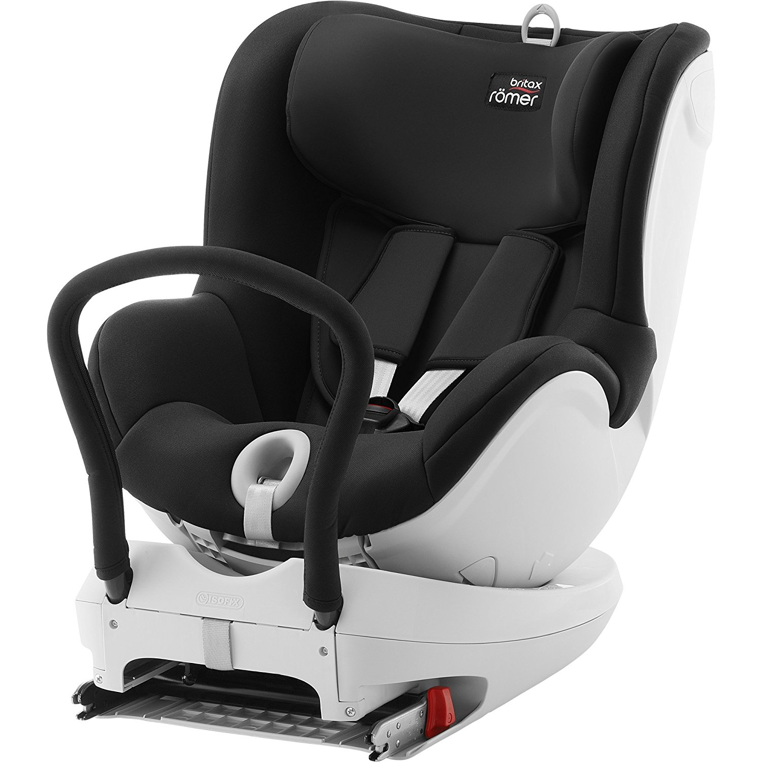 britax romer dual fix car seat group 0 1 cosmos black for ages 0 4 years ebay. Black Bedroom Furniture Sets. Home Design Ideas