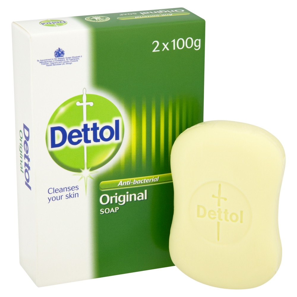 Dettol Anti Bacterial Original Soap Twin Pack Contains