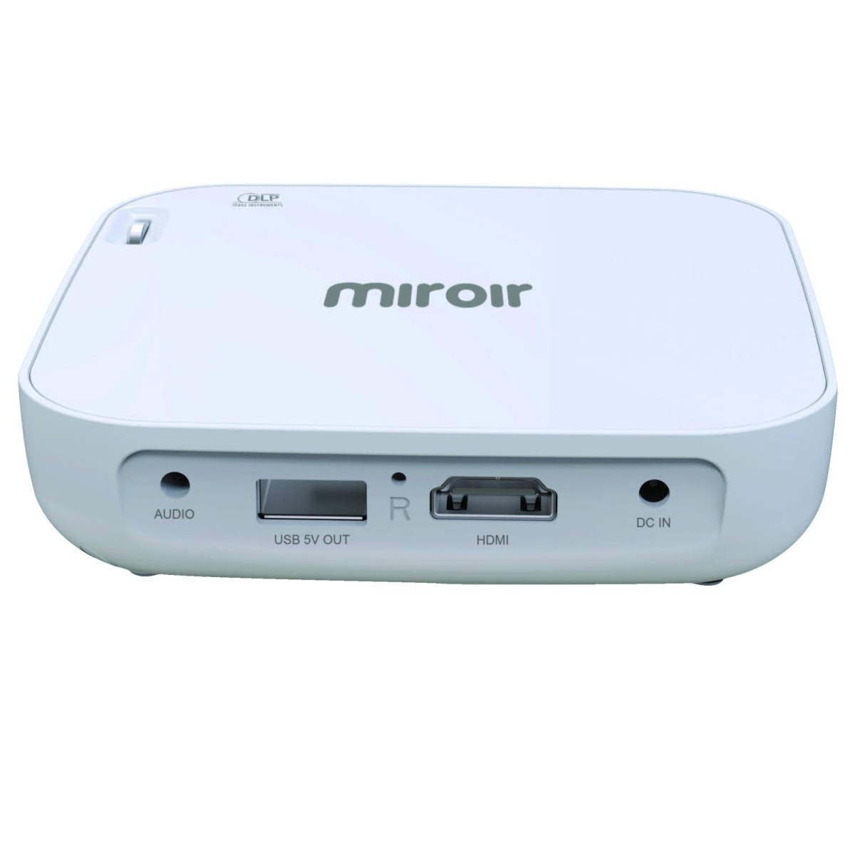 Miroir mp130 dlp wireless portable projector 16 9 aspect for Miroir projectors