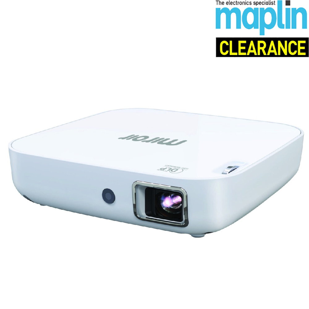 miroir mp130 dlp wireless portable projector 16 9 aspect