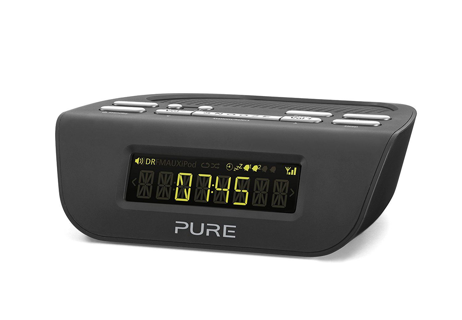 pure siesta mi series ii dab fm digital clock radio with quick set alarm grade c. Black Bedroom Furniture Sets. Home Design Ideas