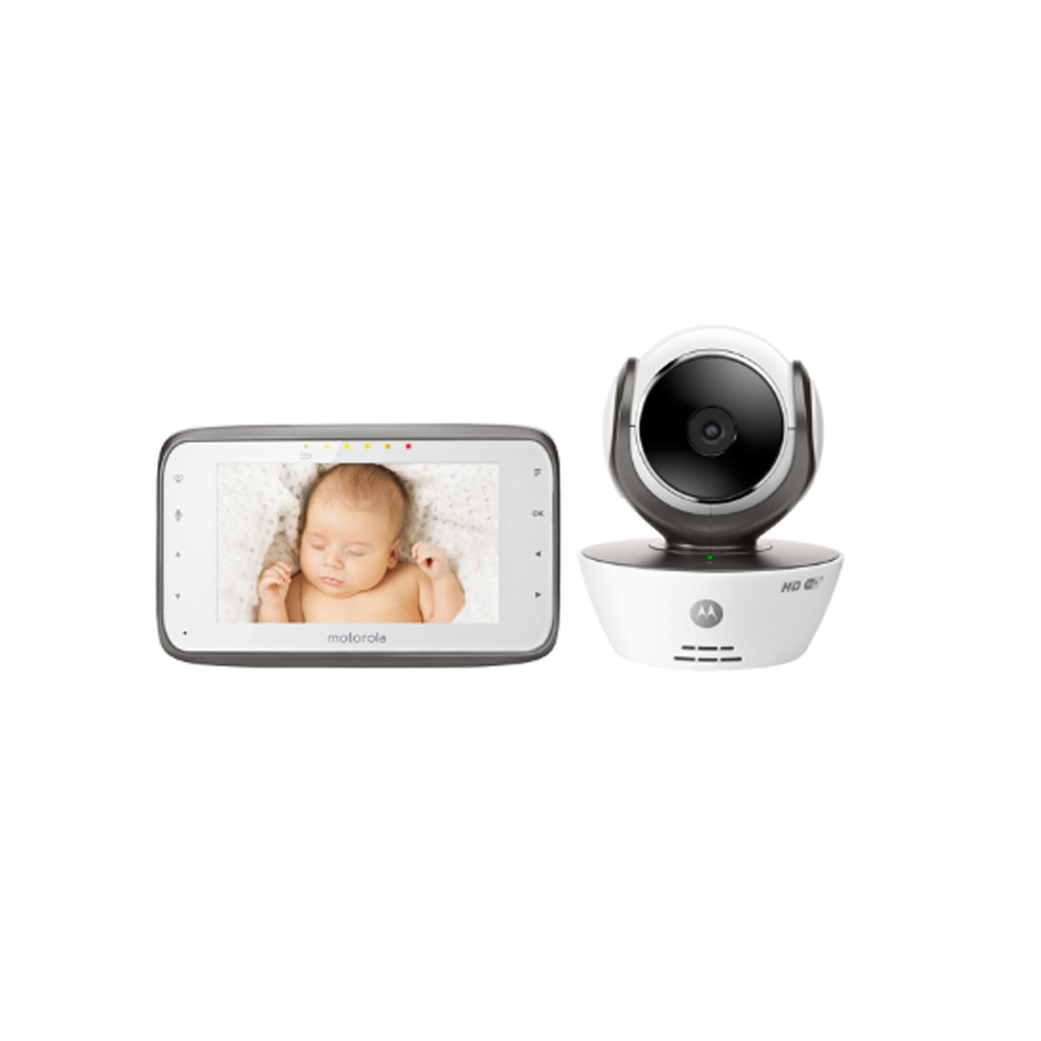 motorola mbp854 connect digital video baby monitor white grade c ebay. Black Bedroom Furniture Sets. Home Design Ideas