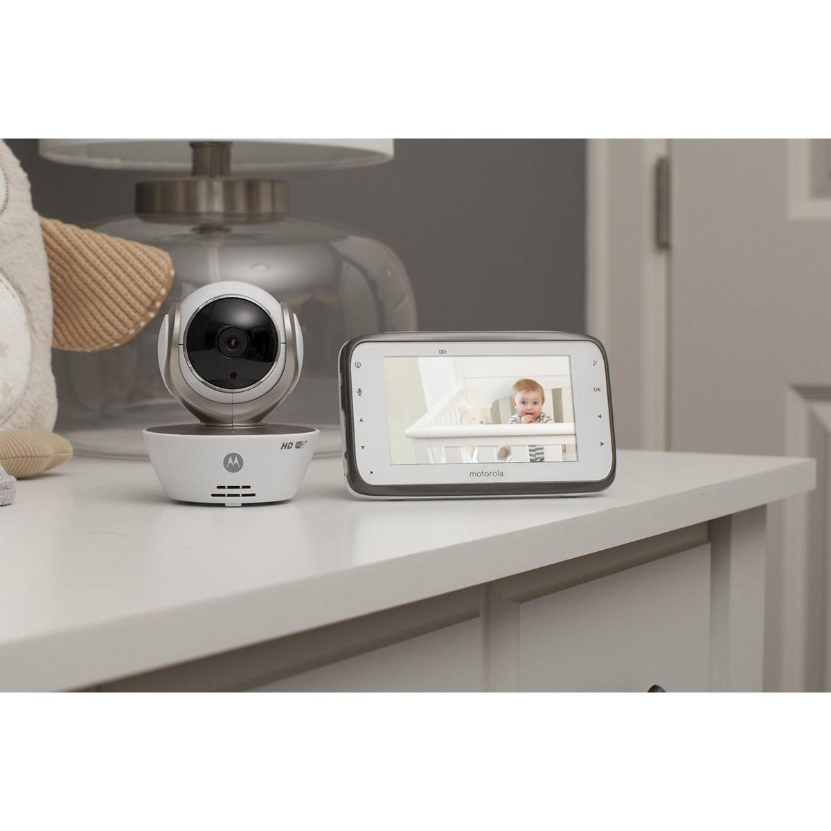 motorola mbp854 connect digital video baby monitor with infrared night vision. Black Bedroom Furniture Sets. Home Design Ideas
