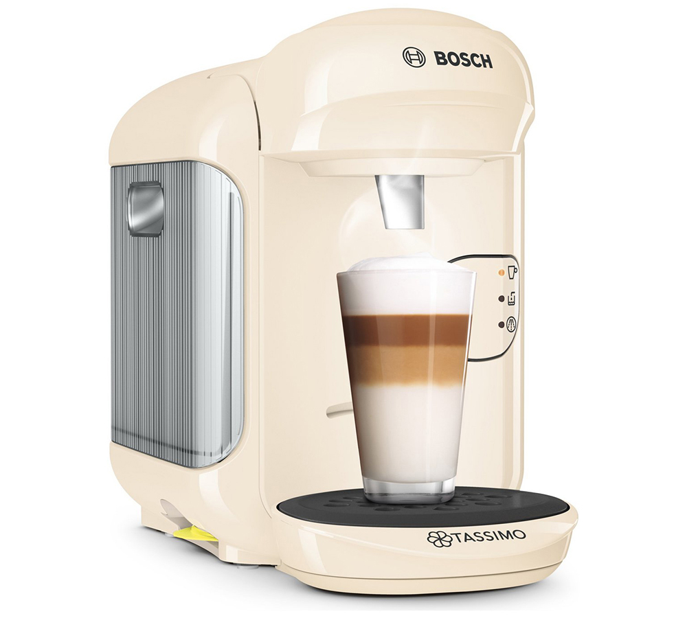 tassimo vivy 2 coffee machine cream 1300w 0 7l 3 3 bar. Black Bedroom Furniture Sets. Home Design Ideas