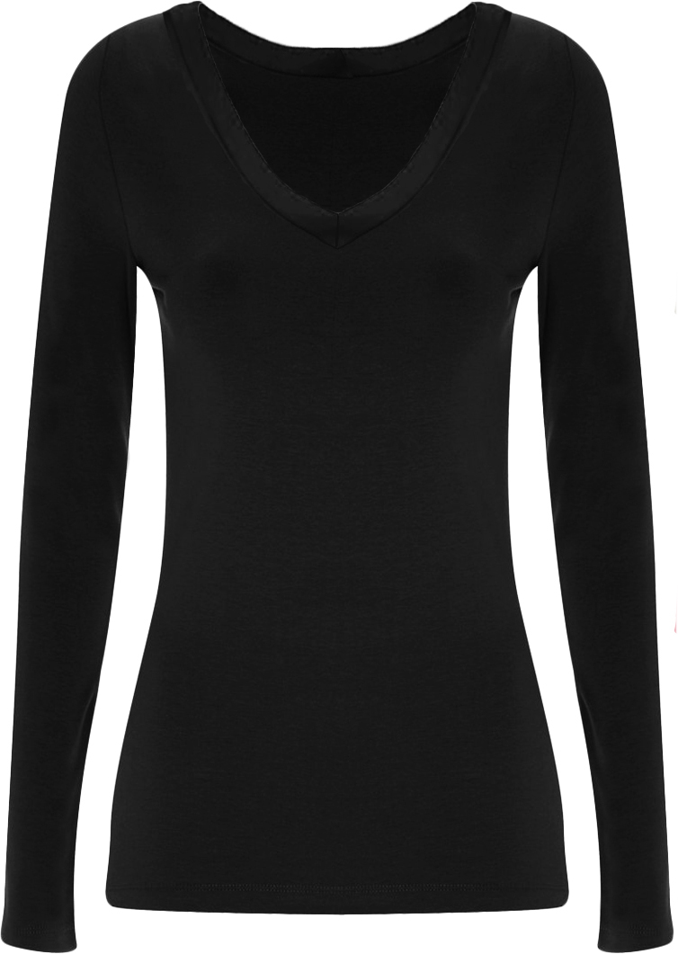 ladies plain black t shirt - photo #14