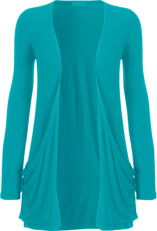 New womens long sleeve pocket ladies stretch open for Women s turquoise long sleeve shirt