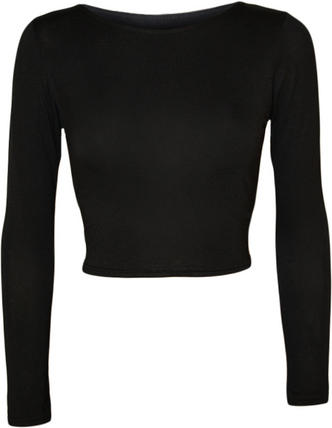 Jeane Long Sleeve Crop Top Preview
