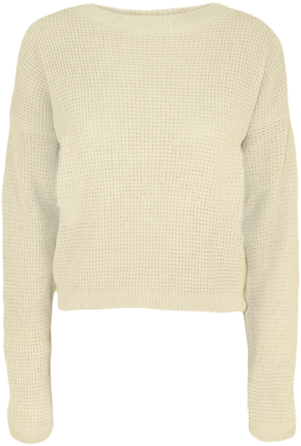 New-Womens-Knitted-Crop-Fisherman-Jumper-Ladies-Long-Sleeve-Short-Net-Top-8-14