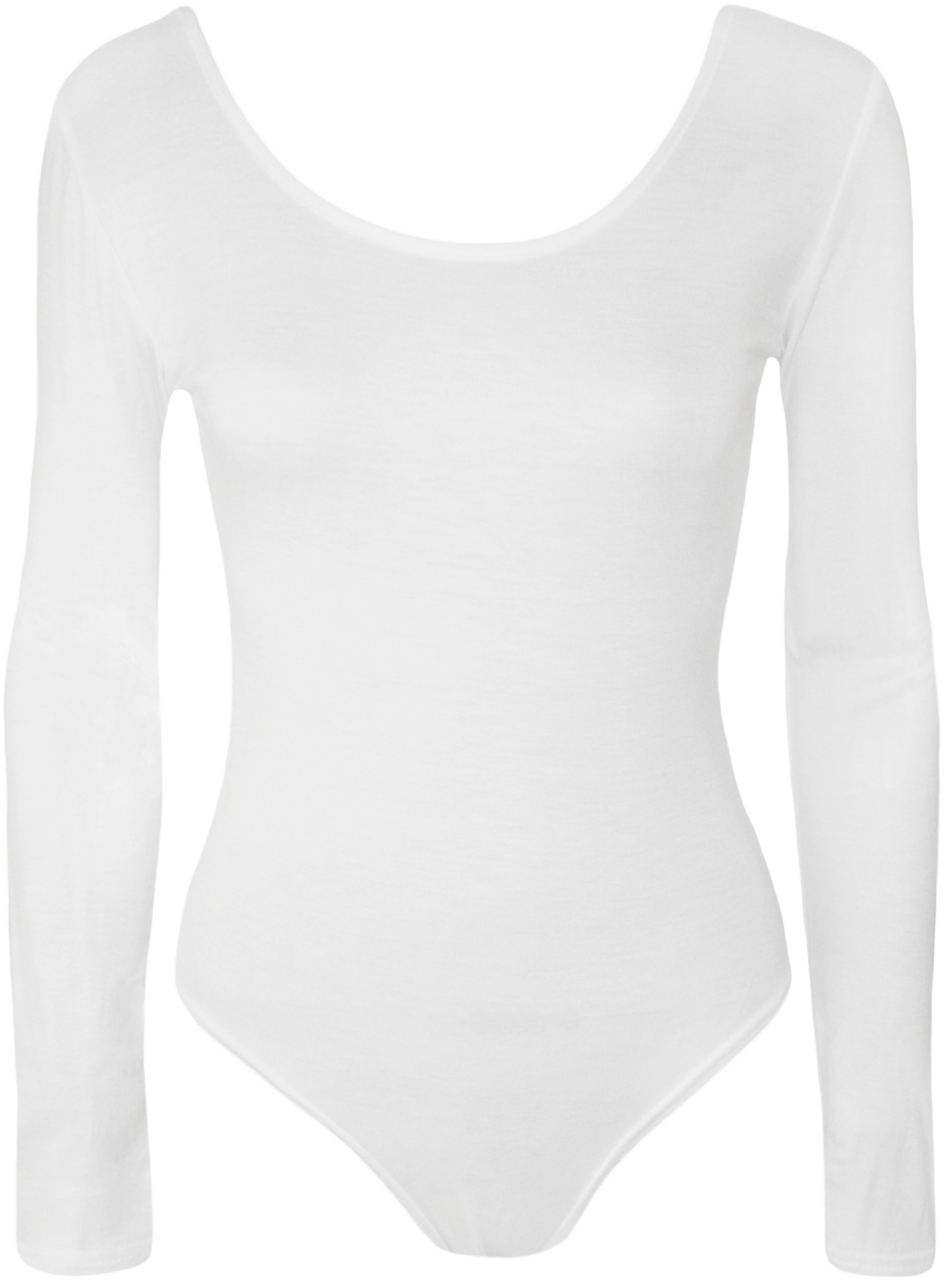 New-Ladies-Stretch-Bodysuit-Top-Womens-Leotard-8-14
