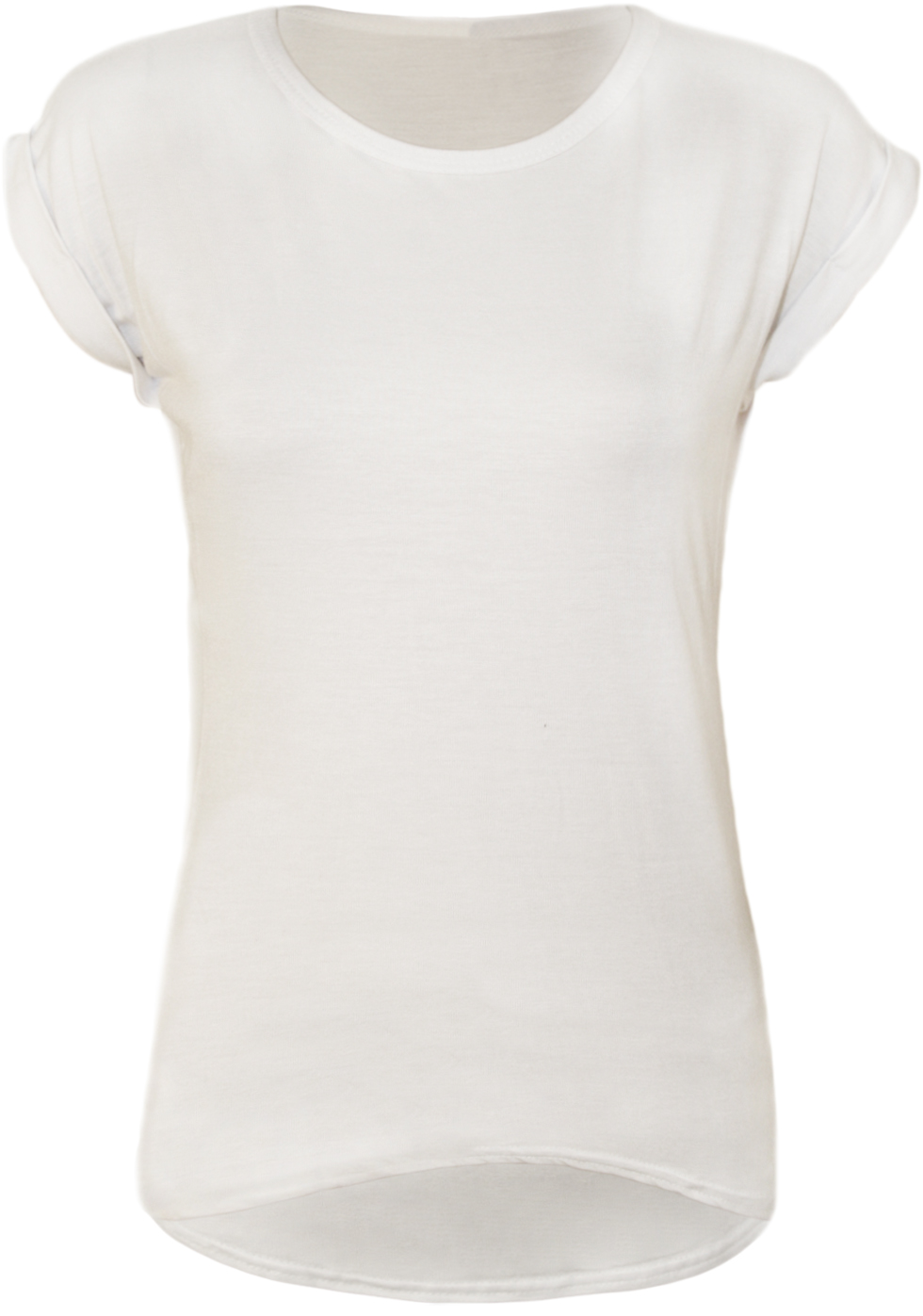 Plain white shirts for women