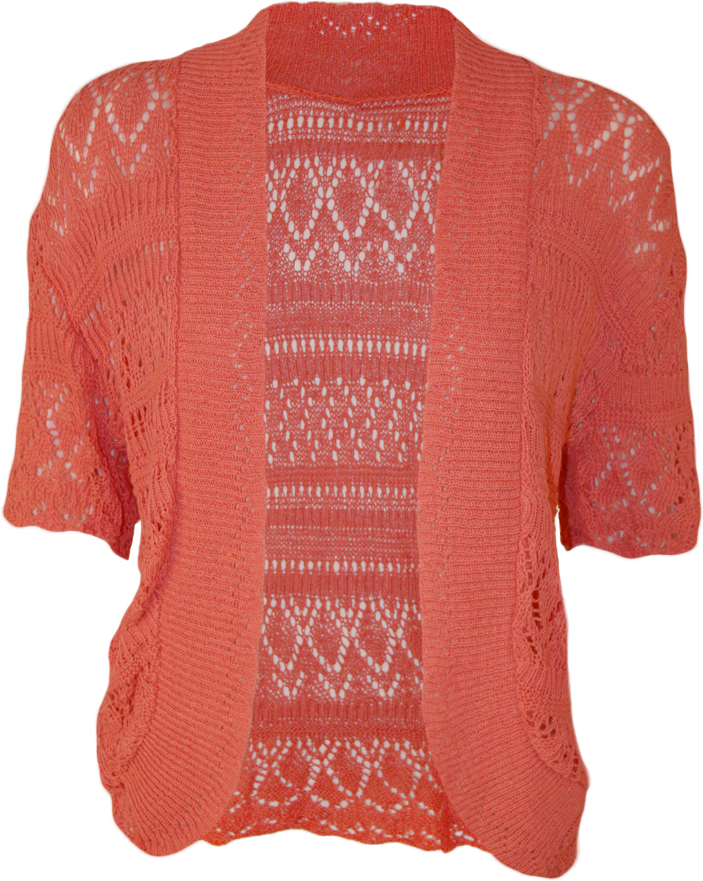 Plus Size Short Sleeve Cardigan Uk - Cardigan With Buttons