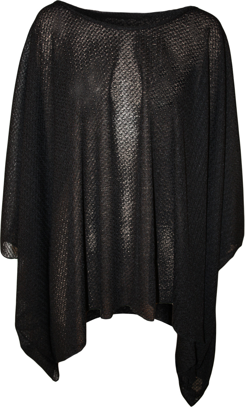 Plus Size Poncho Sweater