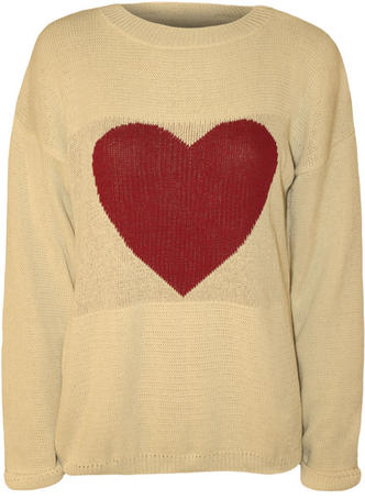 Tess Heart Knitted Jumper Preview