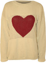 Tess Heart Knitted Jumper Thumbnail 1
