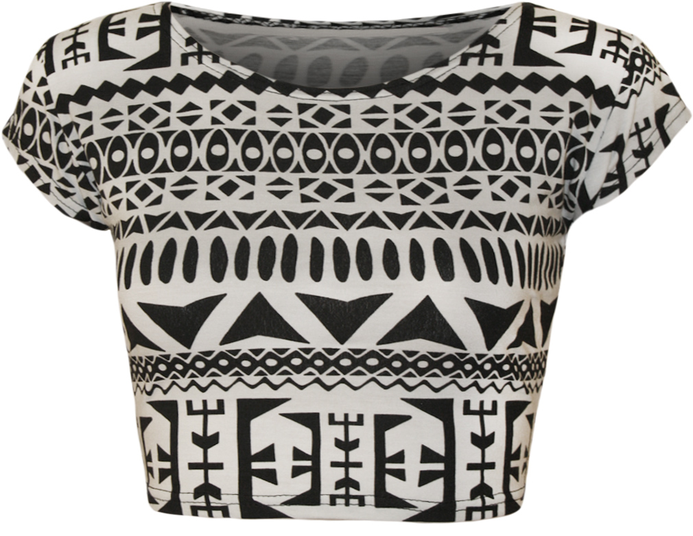 New-Womens-Animal-Aztec-Skull-Camo-Print-Cap-Sleeve-Ladies-Short-Crop-Top-8-14