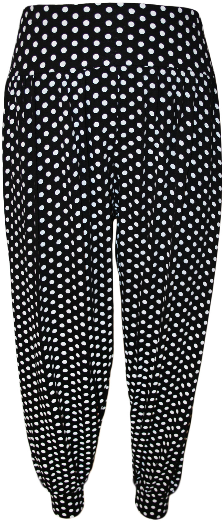New womens plus size printed pattern ladies long harem for Harem pants template