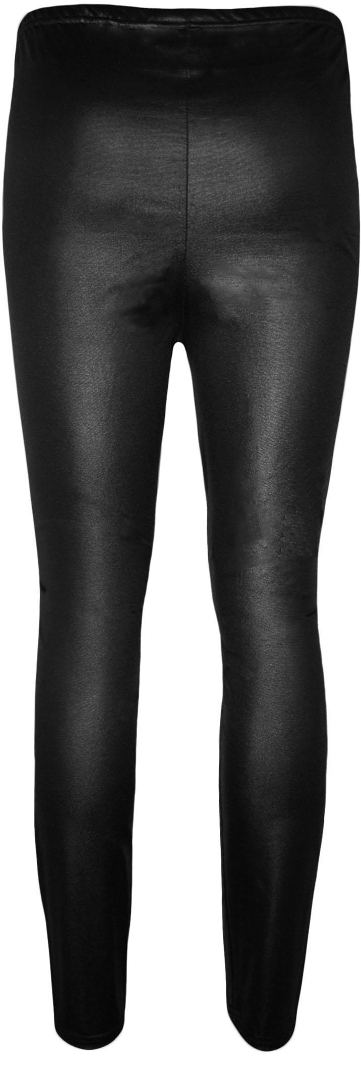 neu damen plus grosse nass aussehen gl nzend damen voll lang leggings hose ebay. Black Bedroom Furniture Sets. Home Design Ideas